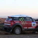 Guerlian Chicherit (FRA) und Co-Driver Michel Perin (FRA) im MINI Dakar, Test in Le Creusot/ FRA, 13.12.2010